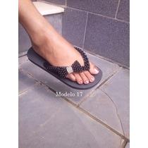 Sandália Chinelo Havaianas Personalizado Laço De Pérolas