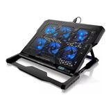 Cooler Para Notebook Multilaser Hexa Cooler Até 17''  Ac282