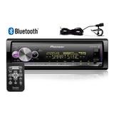 Radio Mp3 Player Pioneer Mvh-x300br Flashing Light Bluetooth