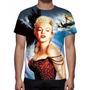 Camisa, Camiseta Marilyn Monroe - Estampa Total