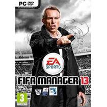 Game Fifa Manager 13 / 2013 - Pc Dvd Box - Original Lacrado