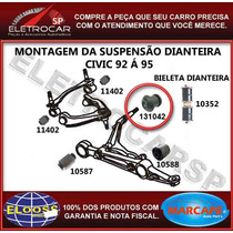 Bucha Da Bandeja Inferior Dianteira Honda Civic 92 A 95 [buc