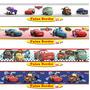 Adesivo Carros Da Disney Border Faixa Auto Colante 100x15