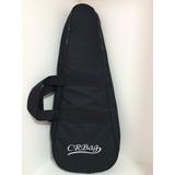 Capa Bag Para Ukulele Tenor  Acolchoada + 2 Palhetas
