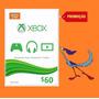 Gift Card Cartão - $60 Dólares Xbox One E 360 - Melhor Preço