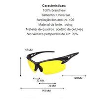 Óculos Visão Noturna Lente Spider Anti Reflexo V014