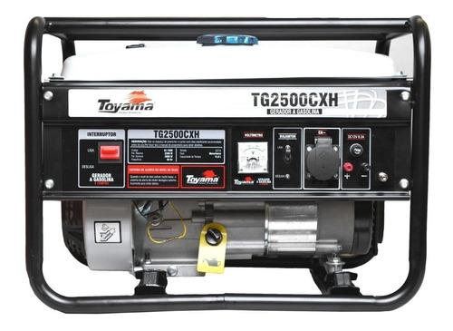 Gerador Portátil Toyama Tg2500cxh-220v 2200w Monofásico Com Tecnologia Avr