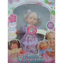 Boneca Meu Versinho - Milk Brinquedos
