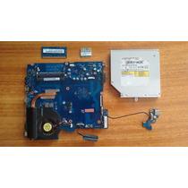 Kit Placa Mae Samsung Rv415 Amd / Cooler, 2g Ram, Dvd E Wif.