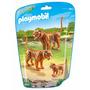 Playmobil 6645 Família De Tigre Animais De Zoológico