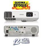 Projetor Epson 93+ 2600 Lumes Hdmi/ C/ Garantia E  Controle