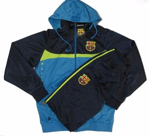 Agasalho Conjunto Do Barcelona Blusa E Calça Futebol Frete - R  184 ... e94a1da7addd7