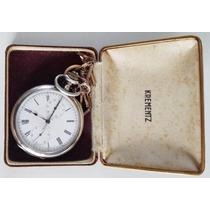 Relógio De Bolso Cronômetro Zenith Lindo Lot 148103-3