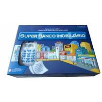 Super Banco Imobiliário Máquina De Cartão Frete Grátis Novo