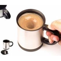 Caneca Elétrica Mixer Shaker Suplemento Café Mistura Tudo.