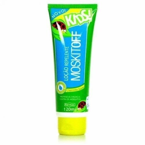 Moskitoff Kids Repelente Loção 120ml (kit C/06)
