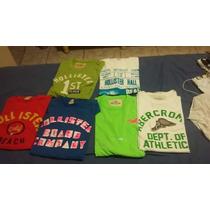 Kit Camisetas Masculinas Hollister Original Em Atacado