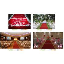 Passadeira Igreja Casamento Festa Carpete Veludo 1ml