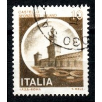 Itália 1980 * Castelo Sforzesco * Milão * 10 L