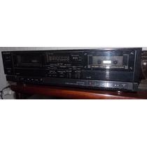 Tape Deck Sony - Aparelho De Som Fita K7 Dois Decks