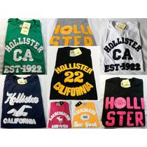 Kit 10 Camisas Distribuidor Hollister Abercrombie Atacado