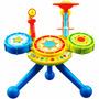 Bateria Criança Infantil Inteligente Musicas Luzes Zoop Toys