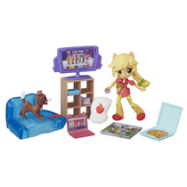 My Little Pony Equestria Girls Mini Applejack E Cenario