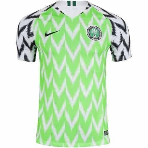 ba8e3456ac Camisa Da Nigeria 2018 Camiseta Seleção Nigeriana Masculino