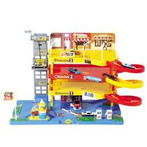 Max Posto E Garagem Com 3 Andares Brinquedo Infantil Nig 350