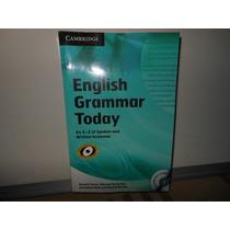 English Grammar Today Cambridge Seminovo Cd Rom Incluso