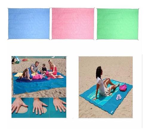 Tapete Mágico Para Praia E Camping - Sand Free Mat