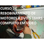 Curso Enrolamento Rebobinagem De Motor Elétrico Em Vídeo