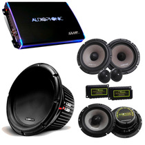 Kit Pro Audiophonic - Club 800.4 + C1-12d2 + Cs650v2 + Ks6.2