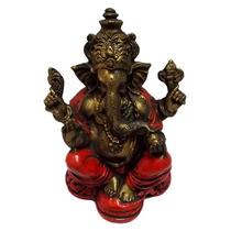 Escultura Lord Hindu Ganesha Em Resina - Decoração De Bali