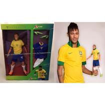 Boneco Grande Jogador Futebol Do Brasil Neymar Jr Original