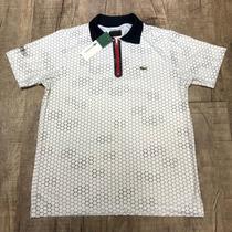 Busca Camisa Lacoste colmeia com os melhores preços do Brasil ... 9eea1cdf26