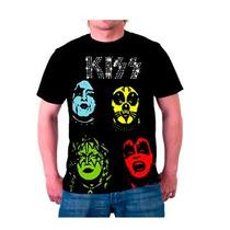 Camiseta De Rock - Kiss Ref001