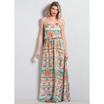 0048d4dc80 Busca Vestidos longos florais chiffon com os melhores preços do ...