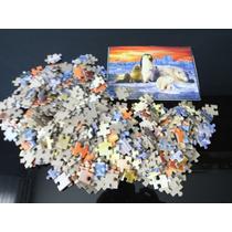 Quebra Cabeça Antartida 500 Peças Puzzle Clássico Grow