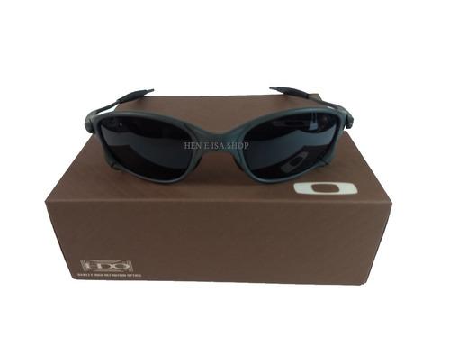 51ceeae348ecd Oculos Oakley Double Xx Preta +certificado+teste+frete