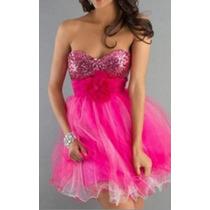 Vestido De Noiva ,debutante Pink - Novo- Pronta Entrega