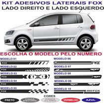Acessorios Faixa Lateral Vw Fox Sport Kit