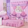 822525 MLB25459366933 032017 I Decoração quarto para menina nas cores roxo e branco