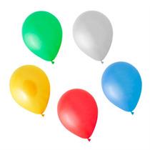 Balão Art-latex N7 Bexiga Para Festa Colorida 50 Unid.