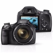 Câmera Digital Sony H400 - 20.1mp Zoom Óptico 63x Hd + 16 Gb