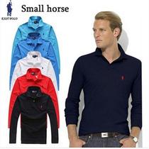 Grande Cavalo Marca Sólida Polo Homens Polo Ralphly Polo Esp