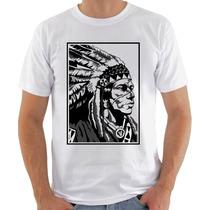 Camisa Camiseta Blusa Masculina Índio Eyph