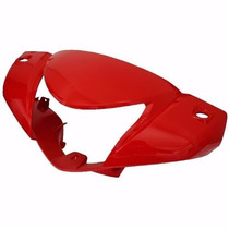 Carenagem Do Farol [pintada] Honda Biz 100 - Vermelho 12/13