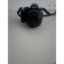 Câmera Nikon D60 Profissional + Lente 18-55mm 8gb + Bolsa