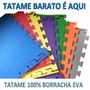 Kit Tapetes Tatames Eva 50x50x1cm (48 Peças)- 2 Bordas